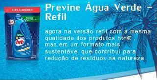 Algicida Manutenção Previne Água Verde Refil 900 ML  - HTH