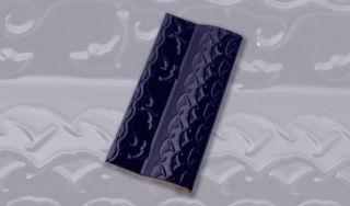 Borda Golfinho Azul Brilhante (12x25) cm - Sithal