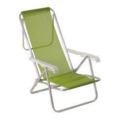 Cadeira de Praia Sannet 8 posições Anis  - Mor