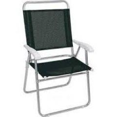 Cadeira Master Plus Fashion Preta  - Mor