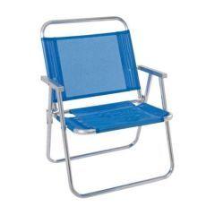 Cadeira de Praia Oversize  Azul . - Mor