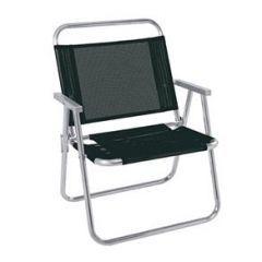Cadeira de Praia Oversize  Preta  - Mor