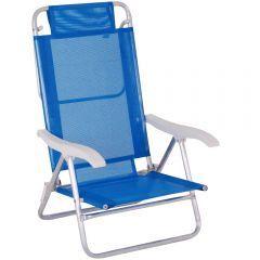 Cadeira de Praia Sol De Verão Fashion Azul  - Mor