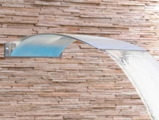 Cascata de Parede Angel Aço Inox 304  - Sodramar