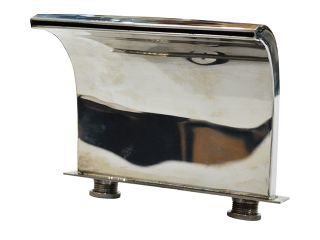 Cascata em Aço Inox para Banheira e Spa Hidro 2 (Reta)  - Pooltec