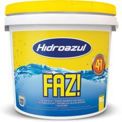Cloro Faz Balde 10 Kg.  - Hidroazul
