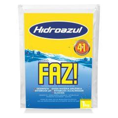 Cloro Faz Saco 1 Kg.  - Hidroazul