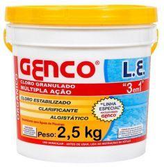Cloro L.E. 3x1 2,5 Kg.  - Genco