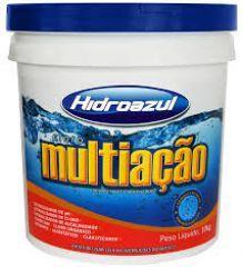 Cloro Multiação 10 Kg.  - Hidroazul