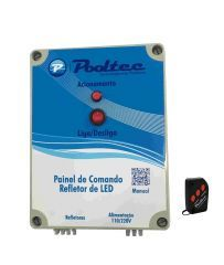 Comando para Leds Modelo A (500 Leds)  - Pooltec