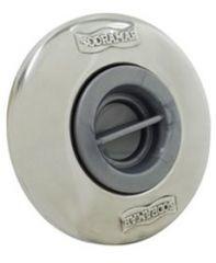 Dispositivo De Aspiração Pratic com Canopla Inox 50 mm com Adaptador  - Sodramar