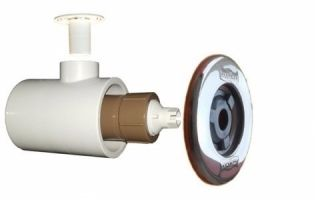 Dispositivo De Hidro Pratic com Canopla Inox  50 mm - Sodramar