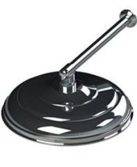 Ducha Cascata em Alumínio 12` (30 cm.) Cano 1` - Sodramar
