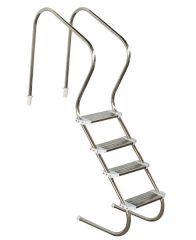 Escada Confort 2 04 Degraus Aço Inox  - Sodramar