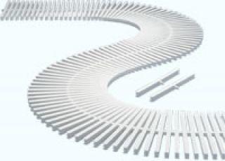 Grelha Flexível 20 cm Dupla Face  - Pooltec