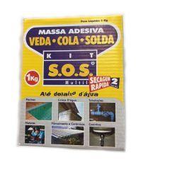Kit SOS   Secagem Rápida 1 Kg.  - Veda Tudo
