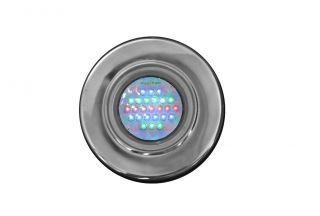 Refletor Led Rosca 1/2 25 Steel Led RGB 25 - Pooltec