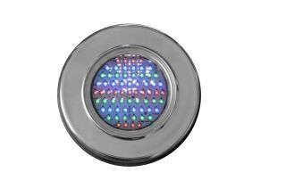 Refletor Steel Led para piscina Rosca 1/2 65 Leds RGB  - Pooltec
