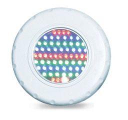 Refletor Tecno Led para piscina 65 - Rosca 1/2 65 Leds RGB  - Pooltec