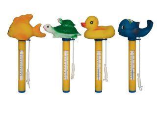 Termometro Flutuante P/ Piscina (Com Animais)  - Sodramar