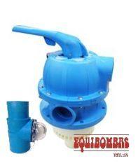 Valvula Multivias Azul P/ Filtros FM  1 1/2` - Sodramar