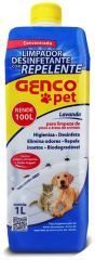 Limpador Desinfetante Gencopet 1 Litro  - Genco Pet