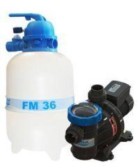 Conjunto Filtro FM-36 com Bomba BMC 33 1/3 c.v. (43 M³) - Sodramar