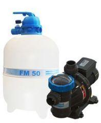 Conjunto Filtro FM-50 com Bomba BMC 75 3/4 c.v. (82 M³) - Sodramar