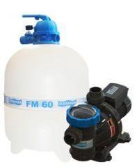Conjunto Filtro FM-60 com Bomba BMC 100 1,0 c.v. (119 M³) - Sodramar