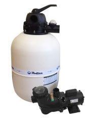 Conjunto Filtro V-60 com Bomba VC-60 1,0 c.v. (86 M³) - Fluidra Brasil / Astral Pool