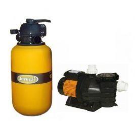 Conjunto Filtro 12 TP com Bomba 5F 1/2 c.v. (26 M³)  - Jacuzzi