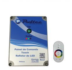 Comando Touch para Led MOdelo C  - Pooltec