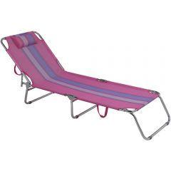 Cadeira Espreguicadeira  Rosa  - Mor