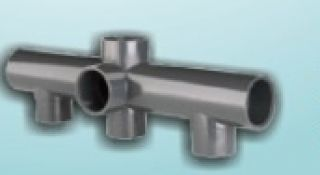 Coletor 03 Vias em PVC  50 mm - Cepex