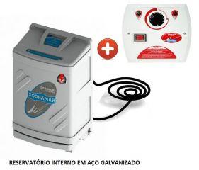Sauna Vapor Compact Line Universal Galvanizada + Quadro Analógico 9 KW  - Sodramar