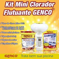 KIT Mini Clorador Flutuador  - Genco