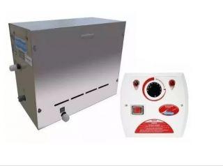 Sauna Vapor Steam Inox com Quadro Analógico. 9 KW  - Sodramar
