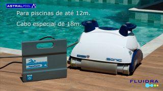 Aspirador Automático Robo Sonic  - Fluidra Brasil / Astral Pool