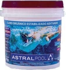 Cloro Granulado Orgânico 5 em 1 10 Kg. - Fluidra Brasil / Astral Pool