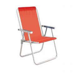 Cadeira de Praia Alta Sannet Coral (002161)  - Mor