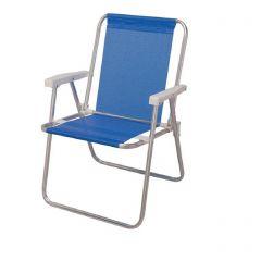 Cadeira de Praia Alta Sannet Azul (002274)  - Mor
